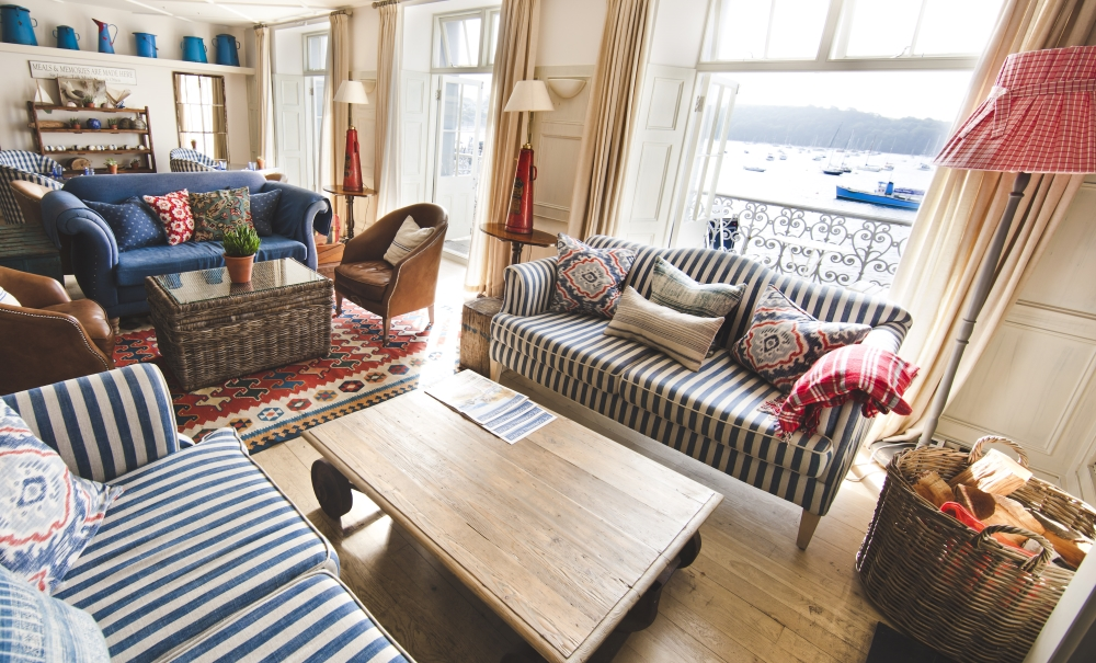 stay at the St Mawes Hotel Cornwall