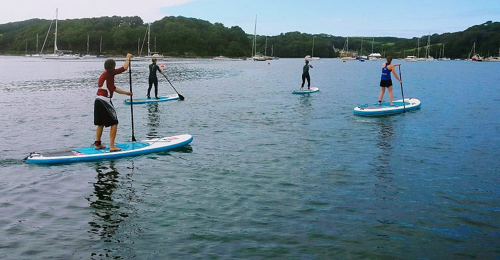Stand Up paddleboarding in St Mawes