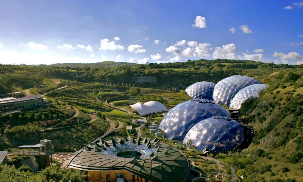 The Eden Project - biomes