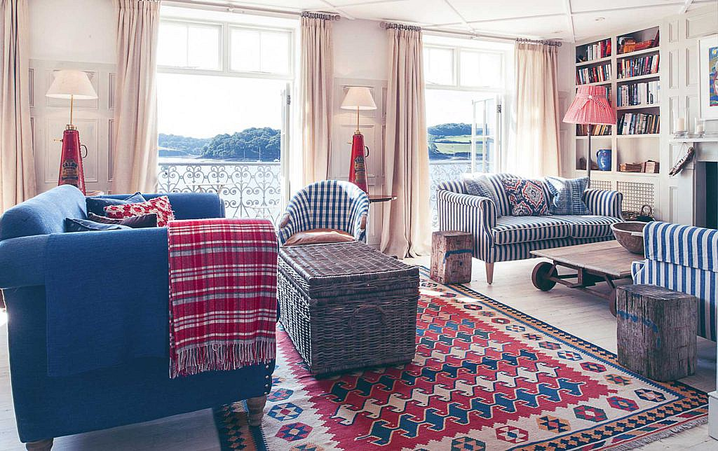 the upperdeck at the St mawes hotel