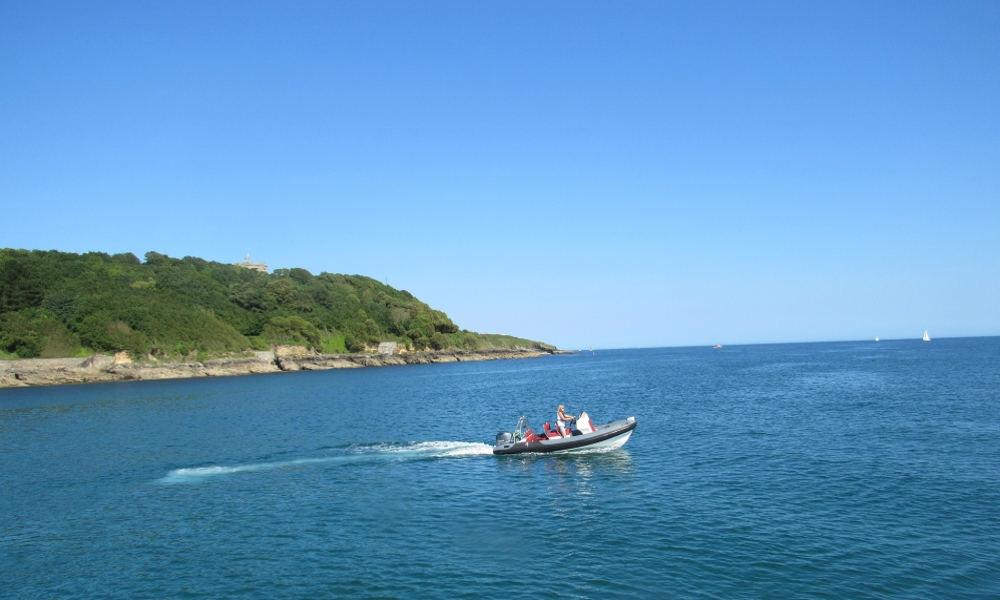 Rib Rides in St Mawes