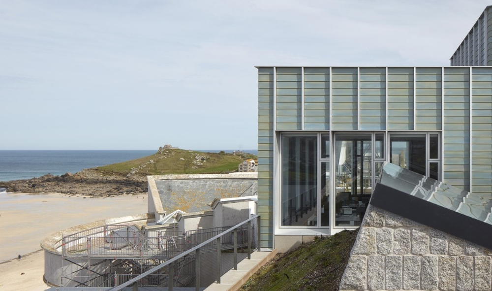 The exteriors of Tate St Ives