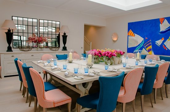 Private dining at the St mawes Hotel